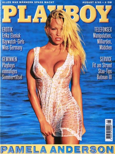 Playboy August 1995, Playboy 1995 August, Playboy 8/1995, Playboy 1995/8