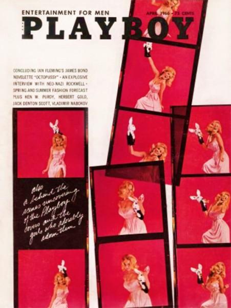 Playboy 1966 April USA Originalausgabe