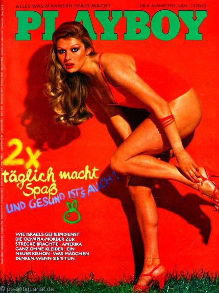 Playboy August 1976, Playboy 1976 August, Playboy 8/1976, Playboy 1976/8
