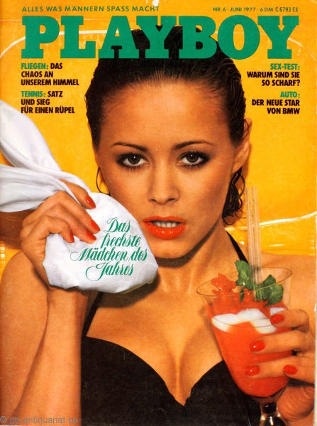 Playboy Juni 1977, Playboy 1977 Juni, Playboy 6/1977, Playboy 1977/6