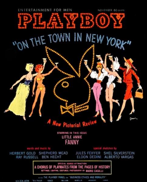 Playboy 1962 November USA Originalausgabe