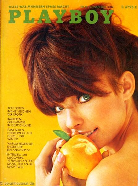 Playboy Oktober 1972, Playboy 1972 Oktober, Playboy 10/1972, Playboy 1972/10