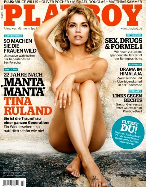 Playboy Oktober 2013, Playboy Tina Ruland, Playboy Nina Bruckner