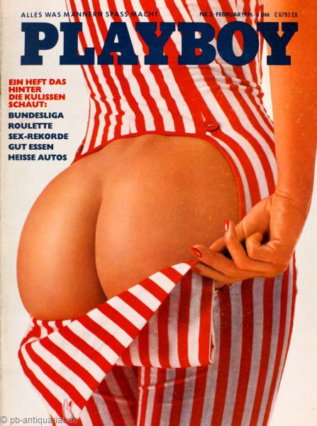 Playboy Februar 1976, Playboy 1976 Februar, Playboy 2/1976, Playboy 1976/2