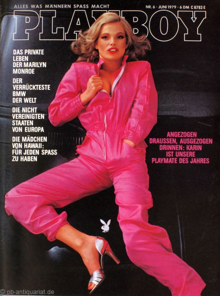 Playboy 1979 Juni Deutsche Originalausgabe