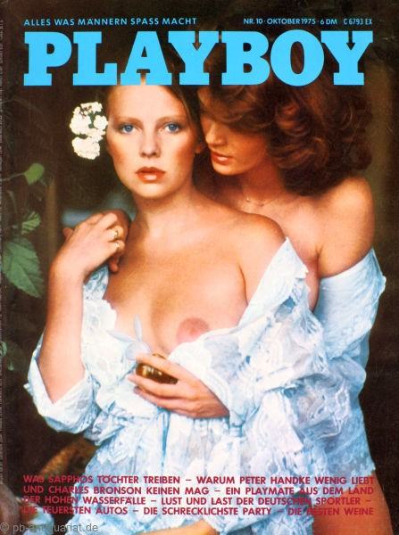 Playboy Oktober 1975, Playboy 1975 Oktober, Playboy 10/1975, Playboy 1975/10