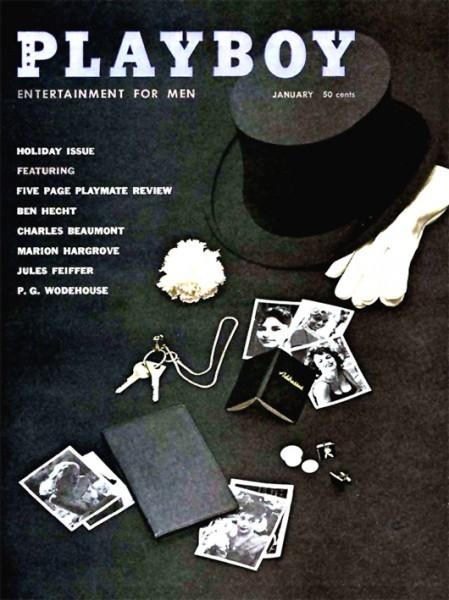 Playboy 1959 Januar USA Originalausgabe