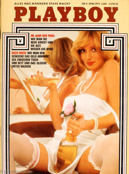 Playboy April 1975, Playboy 1975 April, Playboy 4/1975, Playboy 1975/4