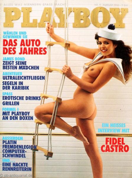 Playboy August 1985, Playboy 1985 August, Playboy 8/1985, Playboy 1985/8