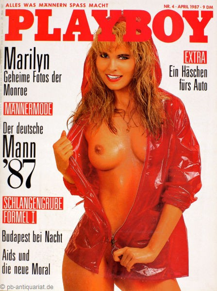 Playboy April 1987, Playboy 1987 April, Playboy 4/1987, Playboy 1987/4