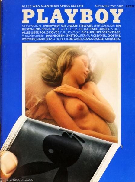 Playboy 1972 September Deutsche Originalausgabe