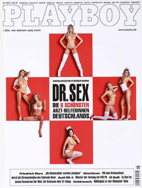 Playboy 2005 August Ausgabe