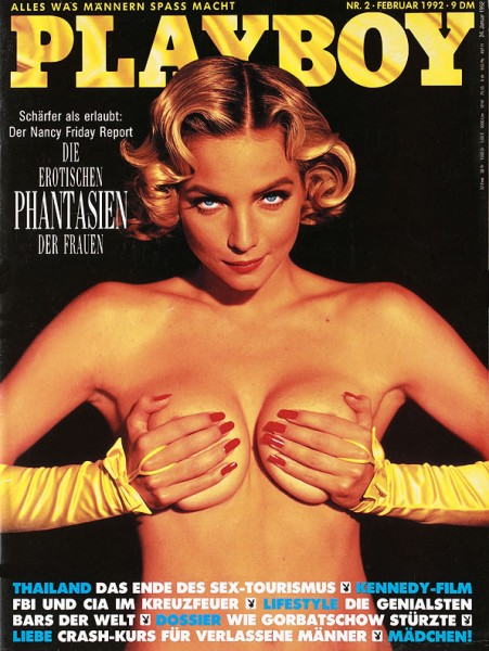 Playboy Februar 1992, Playboy 1992 Februar, Playboy 2/1992, Playboy 1992/2