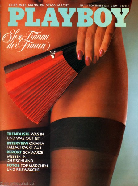Playboy November 1981