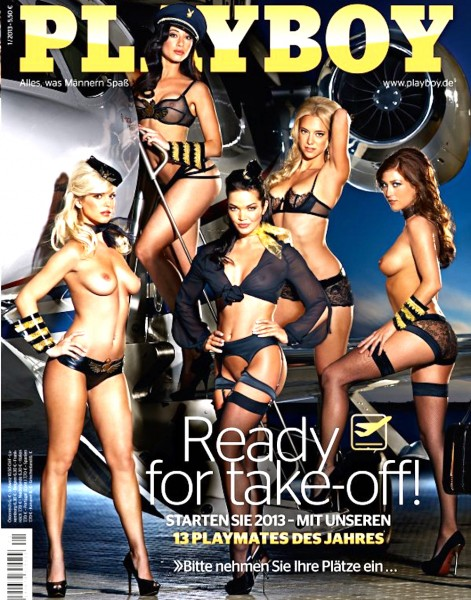 Playboy Januar 2013, Playboy 2013 Januar, Playboy 1/2013, Playboy 2013/1, Playmate 2012
