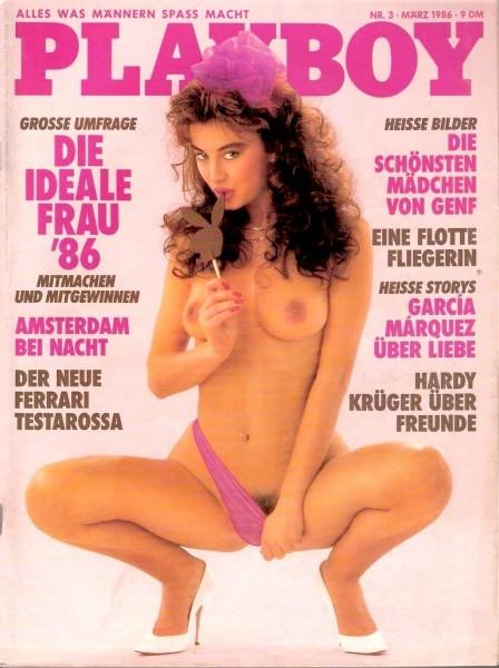 Playboy März 1986, Playboy 1986 März, Playboy 3/1986, Playboy 1986/3