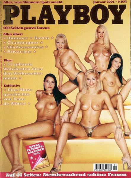 Playboy Januar 2001, Playboy 2001 Januar, Playboy 1/2001, Playboy 2001/1