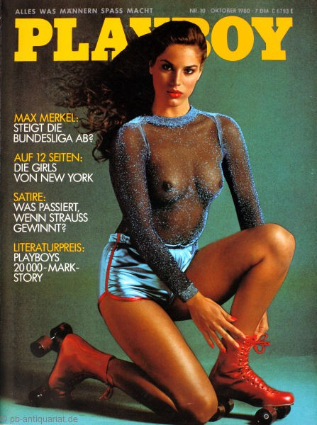 Playboy Oktober 1980, Playboy 1980 Oktober, Playboy 10/1980, Playboy 1980/10