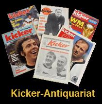 Link zum Kicker-Antiquariat